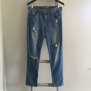 Joe's Jeans Easy High Water Distressed Jeans